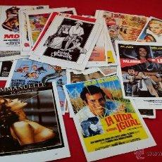 Cine: REPRODUCCIÓN DE FOLLETOS DE MANO DE PELÍCULAS. LOTE DE 50 UNIDADES. Lote 50641789