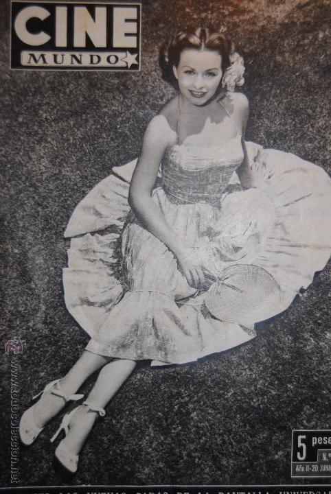 REVISTA ''CINE MUNDO'' EDICIÓN Nº 66, 20 DE JUNIO DE 1953. (Cine - Revistas - Cine Mundial)
