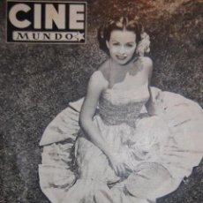 Cine: REVISTA ''CINE MUNDO'' EDICIÓN Nº 66, 20 DE JUNIO DE 1953. . Lote 50693140