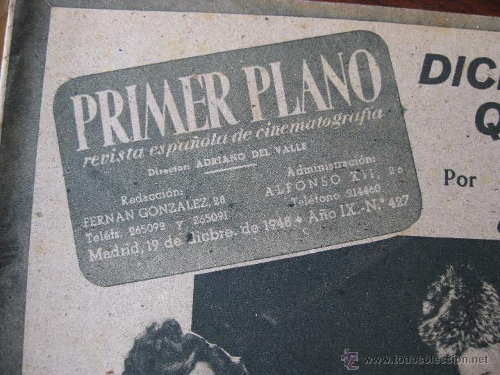 Cine: Revista Primer Plano nº 427. 1948 - Foto 3 - 50784708