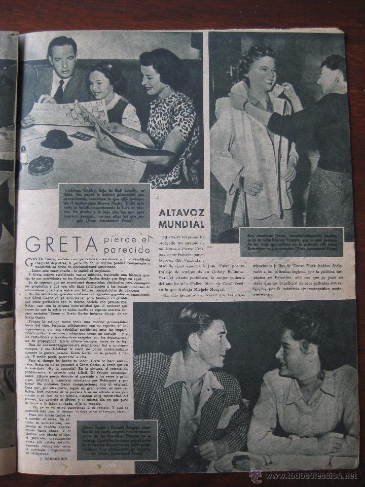 Cine: Revista Primer Plano nº 431. 1950 - Foto 2 - 50784338