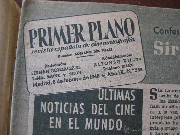 Cine: Revista Primer Plano nº 382. 1948 - Foto 3 - 50784790