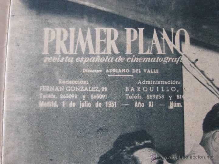 Cine: Revista Primer Plano nº 559. 1951 - Foto 3 - 50784903