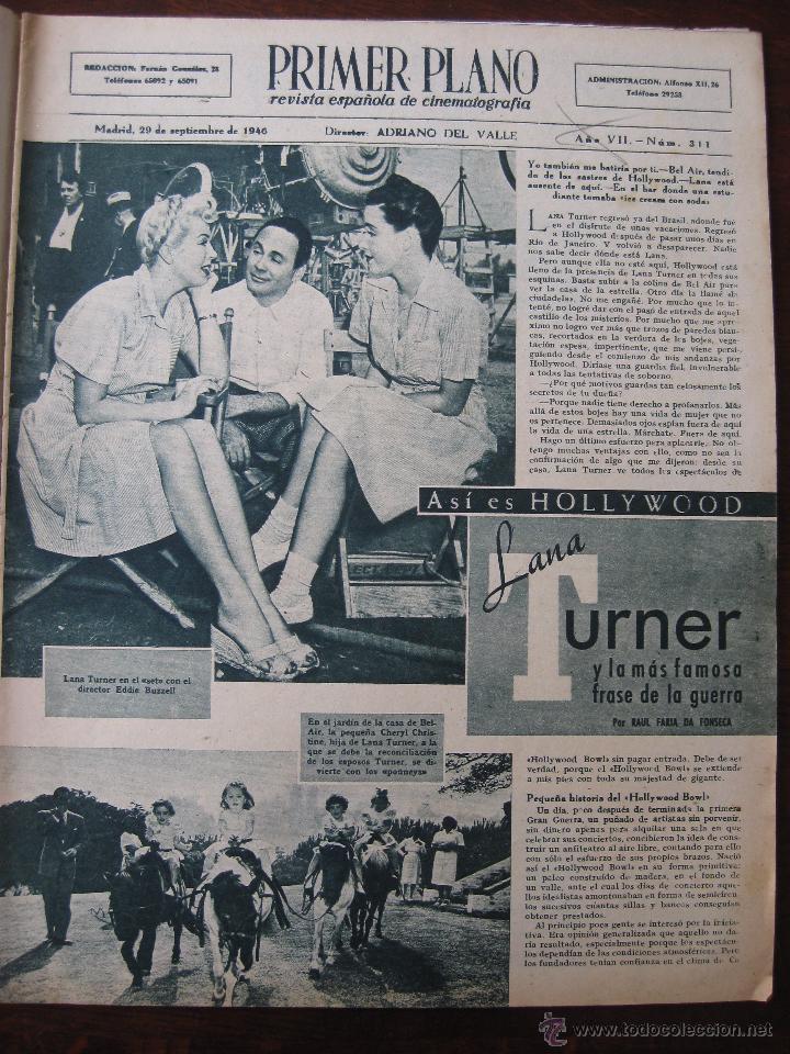 Cine: Revista Primer Plano nº 311. 1946 - Foto 3 - 50784976