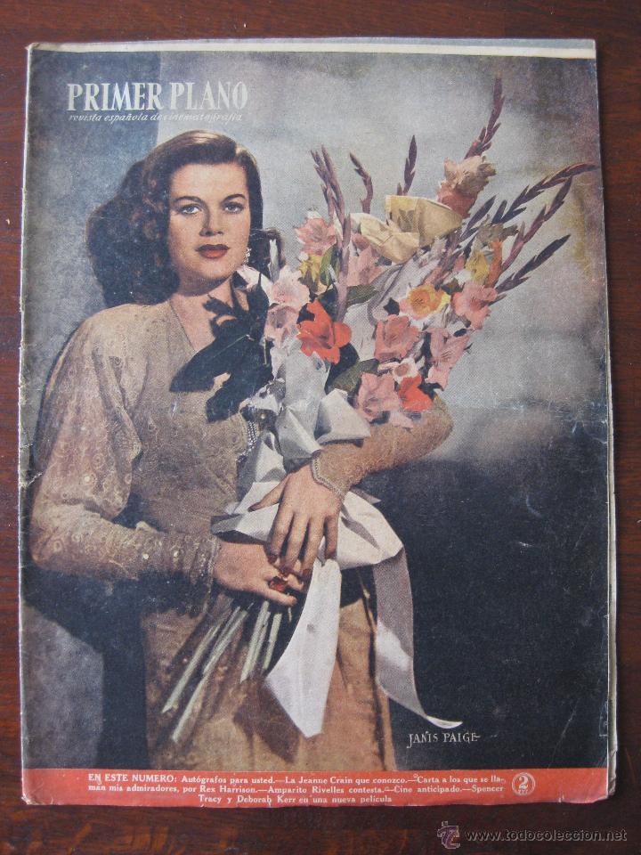 REVISTA PRIMER PLANO Nº 418. 1948 (Cine - Revistas - Primer plano)