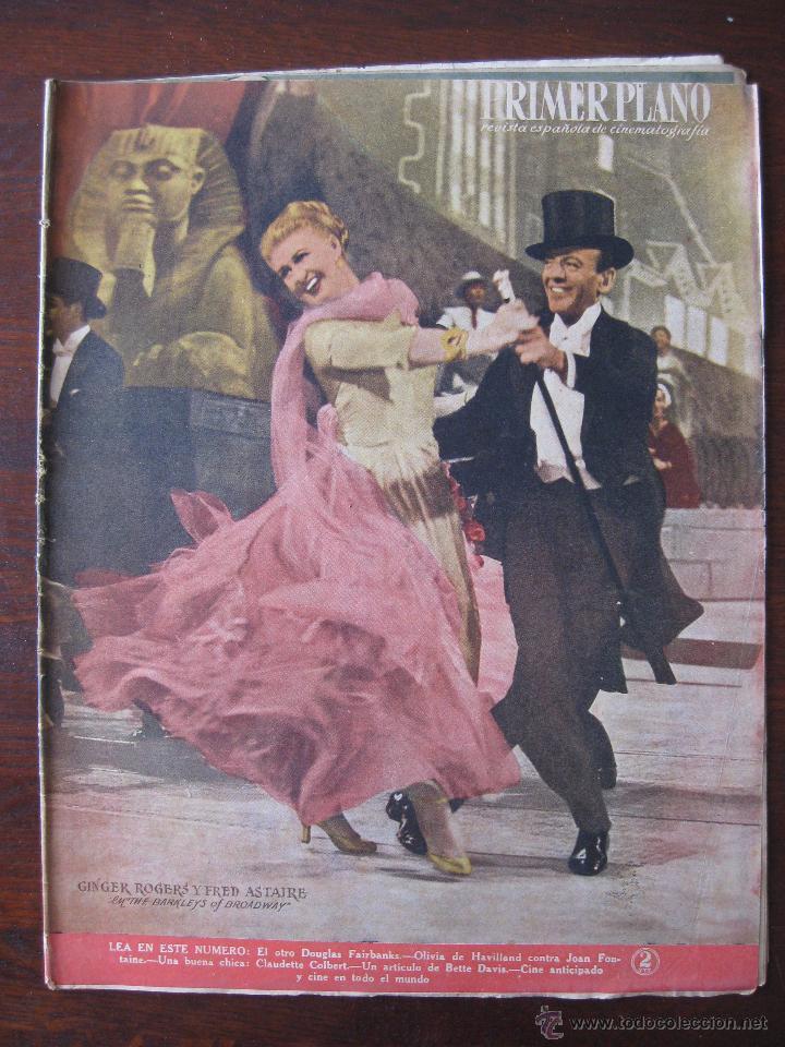 REVISTA PRIMER PLANO Nº 453. 1949 (Cine - Revistas - Primer plano)