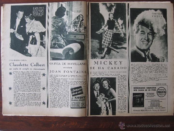 Cine: Revista Primer Plano nº 453. 1949 - Foto 2 - 50785140