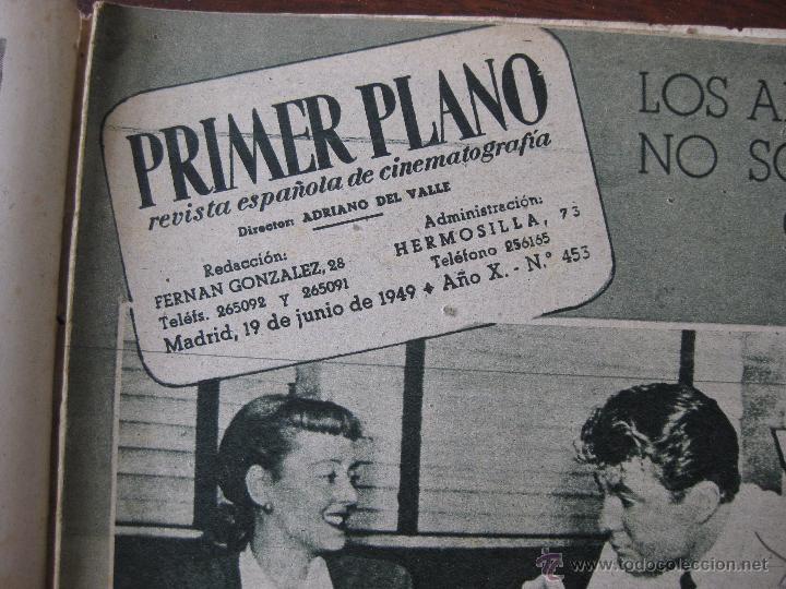 Cine: Revista Primer Plano nº 453. 1949 - Foto 3 - 50785140