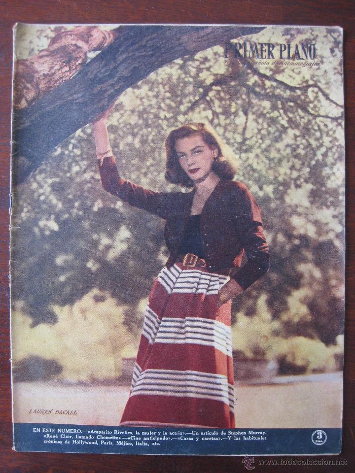 REVISTA PRIMER PLANO Nº 467. 1949 (Cine - Revistas - Primer plano)