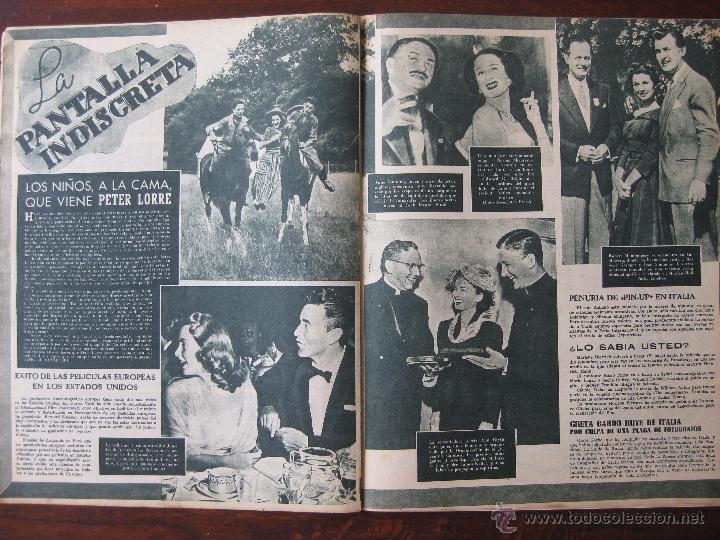 Cine: Revista Primer Plano nº 467. 1949 - Foto 2 - 50785244