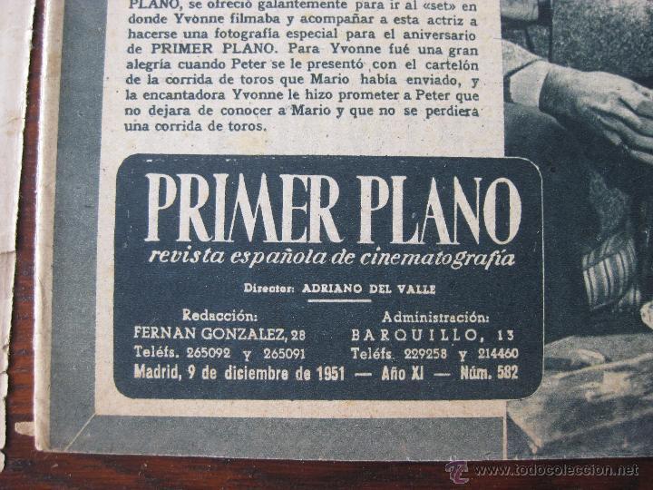 Cine: Revista Primer Plano nº 582. 1949 - Foto 3 - 50785268
