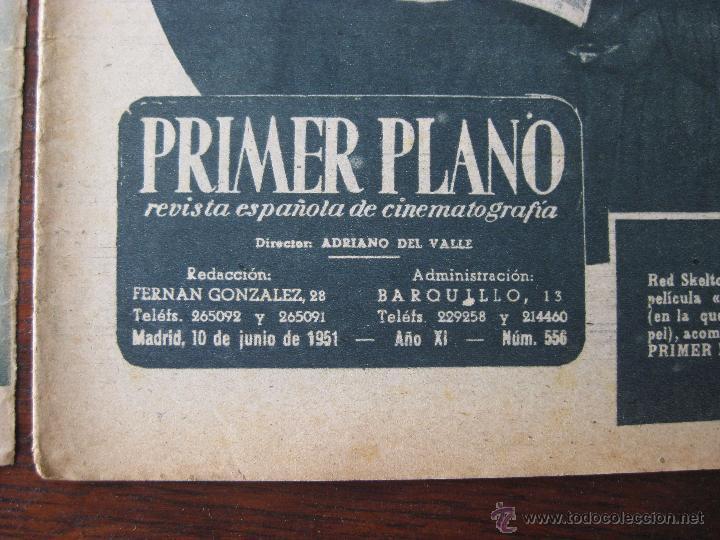 Cine: Revista Primer Plano nº 500. 1949 - Foto 3 - 50785407