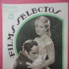 Cinema: FILMS SELECTOS. AÑO IV. Nº 154. 1933.. Lote 50819716