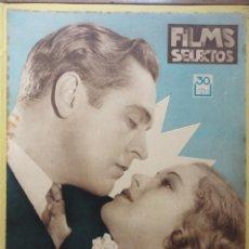 Cine: FILMS SELECTOS. AÑO IV. Nº 144. 1933.. Lote 50819763