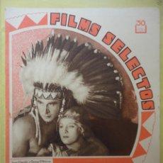 Cine: FILMS SELECTOS. AÑO IV. Nº 125. 1933.. Lote 50819958