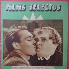 Cine: FILMS SELECTOS. AÑO IV. Nº 126. 1933.. Lote 50819968
