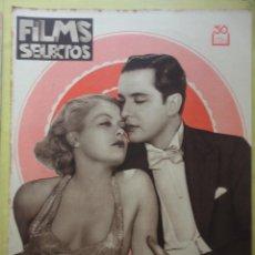 Cine: FILMS SELECTOS. AÑO IV. Nº 142. 1933.. Lote 50820390