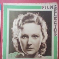 Cine: FILMS SELECTOS. AÑO IV. Nº 139. 1933.. Lote 50820438