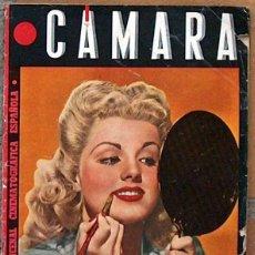 Cine: REVISTA CAMARA Nº 47 1944, PORTADA DOLORES MORAN. Lote 50855568