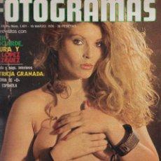 Cine: FOTOGRAMAS Nº 1431 - 19 MARZO 1976 PATRICIA GRANADA, DICK BOGARDE. Lote 50871082