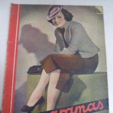 Cine: CINEGRAMAS. AÑO III. 12 ABRIL 1936. Nº 83. RENEÉ SANT - CYI. LEER. Lote 50928301