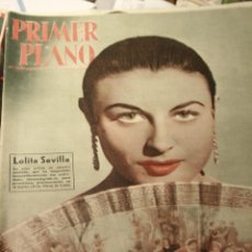 Cine: LOLITA SEVILLA PRIMER PLANO Nº 906 CARMEN SEVILLA SARA MONTIEL LUDMILLA TCHERINA. Lote 50930436