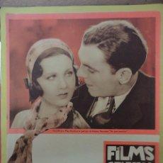 Cine: FILMS SELECTOS. AÑO III. Nº 101. 1932.. Lote 50933503