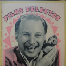 Cine: FILMS SELECTOS. AÑO III. Nº 107. 1932.. Lote 50934218