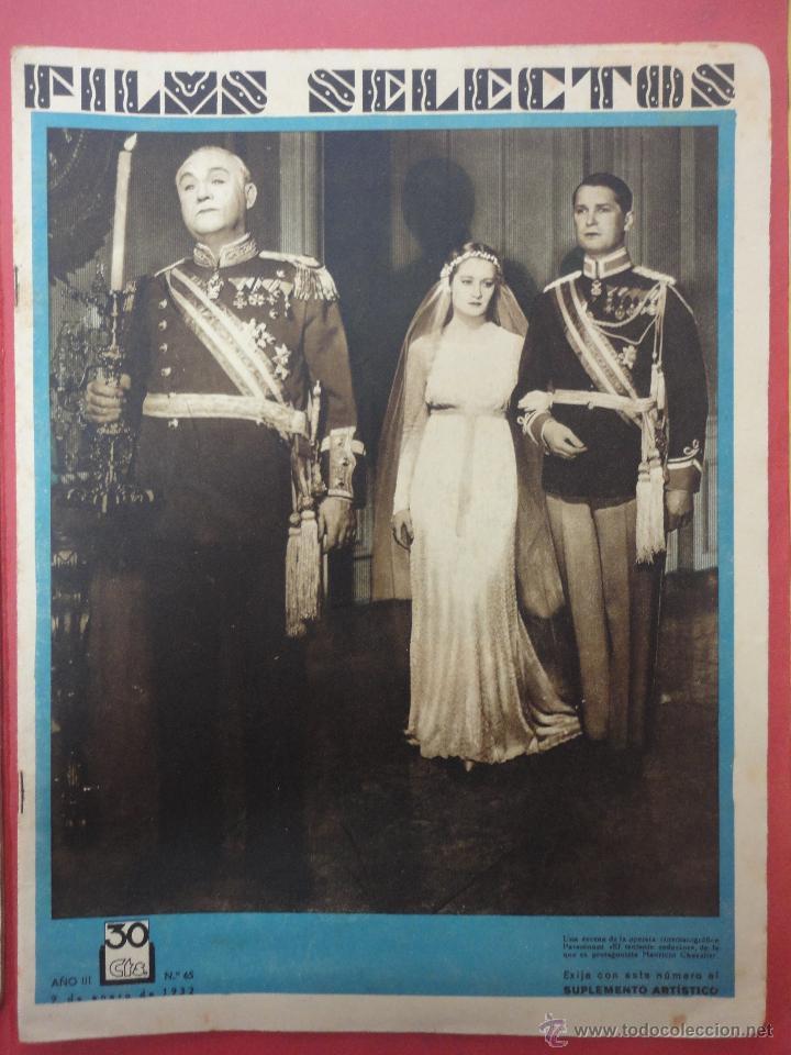FILMS SELECTOS. AÑO III. Nº 65. 1933. (Cine - Revistas - Films selectos)