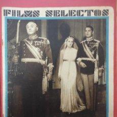 Cine: FILMS SELECTOS. AÑO III. Nº 65. 1933.. Lote 50939303