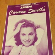 Cine: ALBUM FOTOGRAMAS 50 CARMEN SEVILLA 1. Lote 50951441