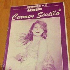 Cine: ALBUM FOTOGRAMAS 51 CARMEN SEVILLA 2. Lote 50951442
