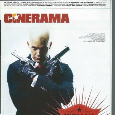 Cine: REVISTA CINERAMA 7 NOVIEMBRE Nº 155, LEONES POR CORDEROS, RESIDENT EVIL, ENCANTADA, OTROS. Lote 50952962