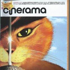 Cine: REVISTA CINERAMA 11 NOVIEMBRE 199, LA SAGA CREPÚSCULO: AMANECER, TIBURÓN LA PRESA, OTROS. Lote 50952983