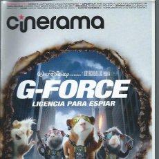 Cine: REVISTA CINERAMA 9 SEPTIEMBRE 175, G FORCE, MALDITOS BASTARDOS, GAMER, OTROS. Lote 50952987