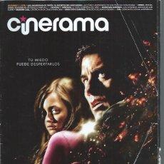 Cine: REVISTA CINERAMA 11 OCTUBRE 198, LAS AVENTURAS DE TINTÍN, DIME CON CUANTOS, EVA, OTROS. Lote 50952996