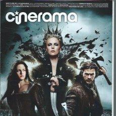 Cine: REVISTA CINERAMA 12 MAYO 205, LOS VENGADORES, AMERICAN PIE, BLANCANIEVES Y LA LEYENDA, OTROS. Lote 50953002