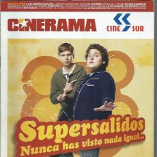 Cine: REVISTA CINERAMA 7 OCTUBRE 154, SUPERSALIDOS NUNCA HAS VISTO NADA IGUAL, OTROS. Lote 50953010