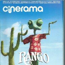 Cine: REVISTA CINERAMA 11 MARZO 192, RANGO, SOY EL NÚMERO CUATRO, GNOMEO Y JULIETA, OTROS. Lote 50953035