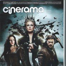 Cine: REVISTA CINERAMA 12 MAYO 205, BLANCANIEVES Y LA LEYENDA DEL CAZADOR, LA SOMBRA DE LOS OTROS, ETC. Lote 50953056