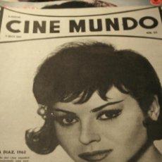 Cinéma: MARUJITA DIAZ CINE MUNDO Nº 513 1962 AURORA BAUTISTA RICHARD WIDMARK. Lote 50968507