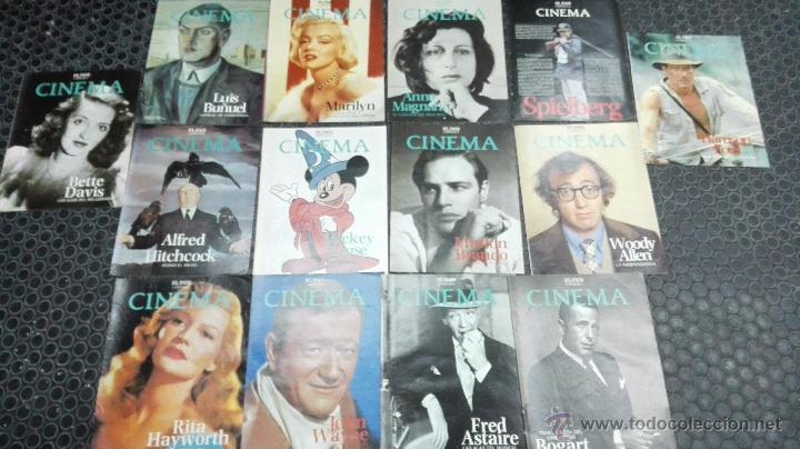REVISTAS EL PAÍS-CINEMA. A COLOR.14 NÚMEROS. (Cine - Revistas - Cinema)