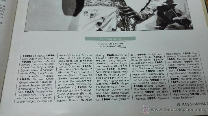 Cine: Revistas El País-Cinema. A color.14 números. - Foto 9 - 50981670