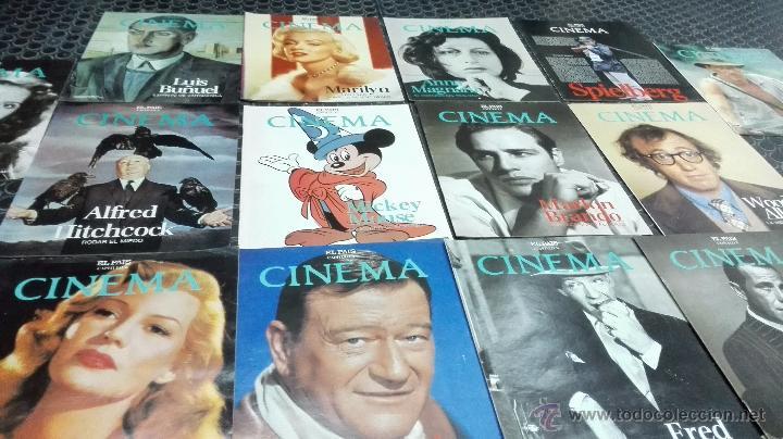 Cine: Revistas El País-Cinema. A color.14 números. - Foto 11 - 50981670