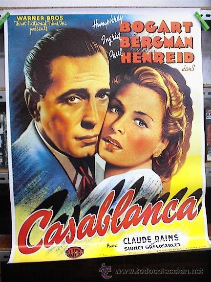 CASABLANCA (Cine - Reproducciones de carteles, folletos...)