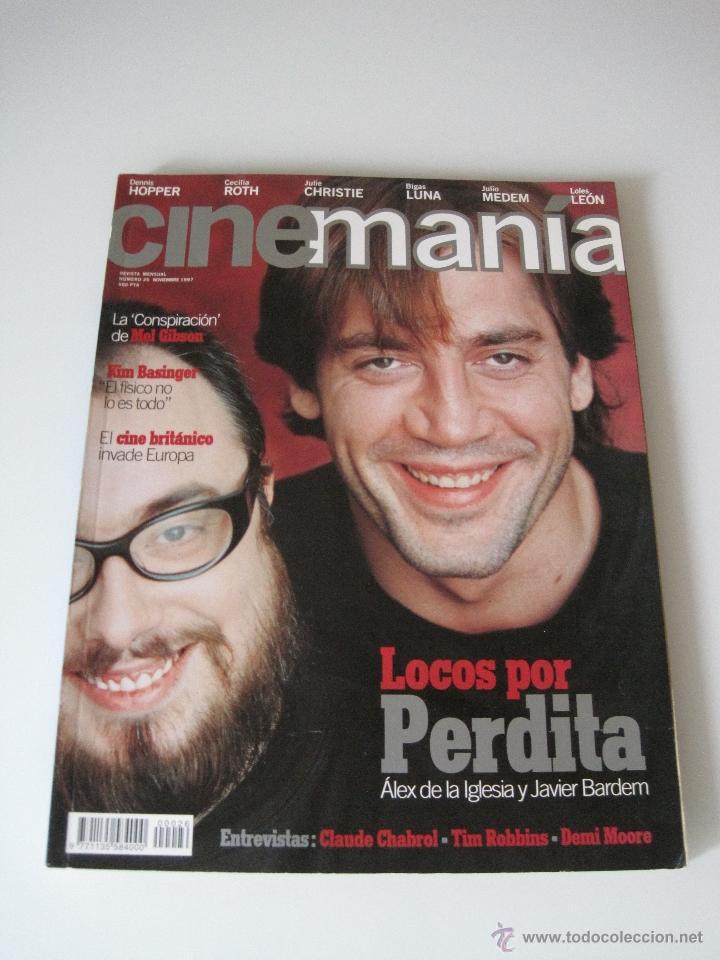 CINEMANIA Nº 26 NOVIEMBRE 1996 (Cine - Revistas - Cinemanía)
