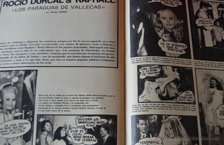 Cine: FOTOGRAMAS Nº 1323 - FEBRERO 1974 - TARZAN - ROCIO DURCAL - RAPHAEL - SERRAT - Foto 3 - 43400351