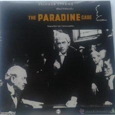 Cine: THE PARADINE CASE LASER-DISC. Lote 51175630