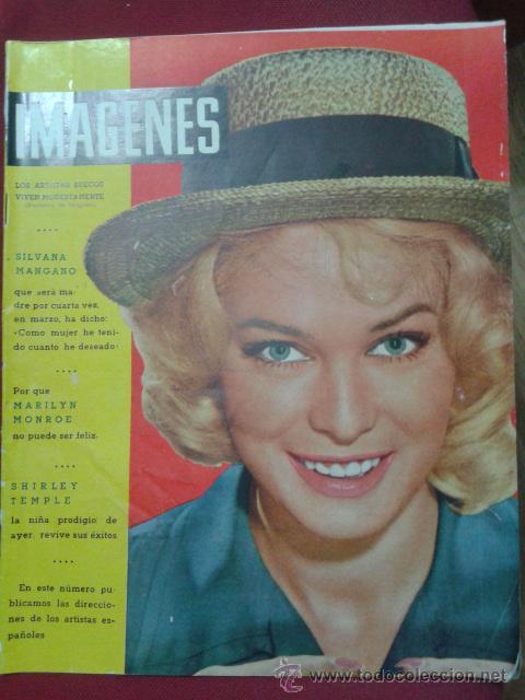 Revista imagenes- marilyn monroe- joan collins- - Sold