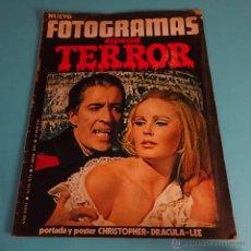 Cine: REVISTA NUEVO FOTOGRAMAS ESPECIAL TERROR Nº 1173 ABRIL 1971. Lote 51443275